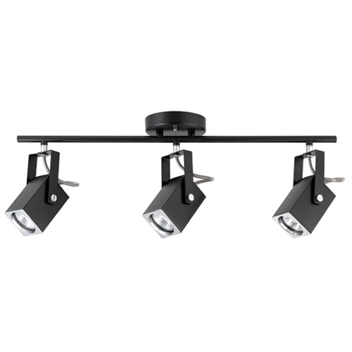 """Quadra"" 3-light track fixture"