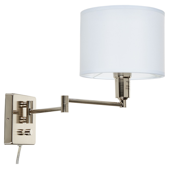 1-Light Swing-Arm Wall Sconce