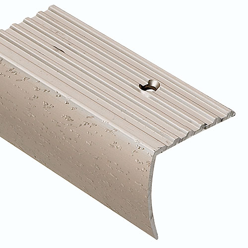 Shop Columbia Aluminum Products 8-ft Stair Edge Fluted at Lowes