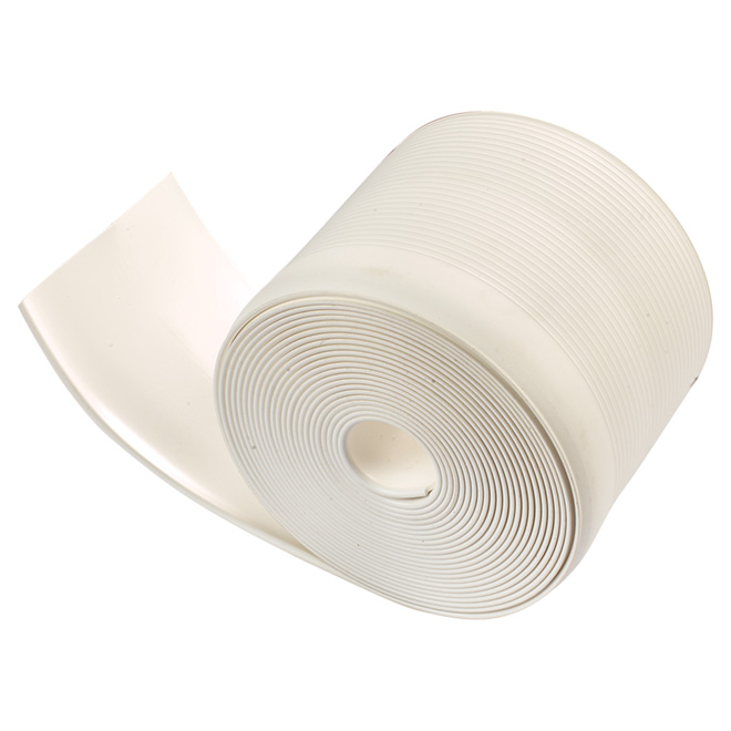 "Vinyl Cove Base - Self-Stick - 4"" x 20' - White"