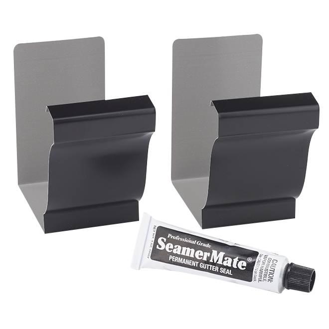 Kit of 2 Gutter Seamer with 1-oz Permanent Seal - Black