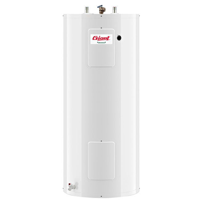 electric water heater 40 gal w white