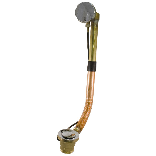 Brass Bath Overflow Cable