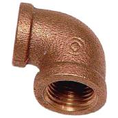 Brass 90° Reducing Elbow