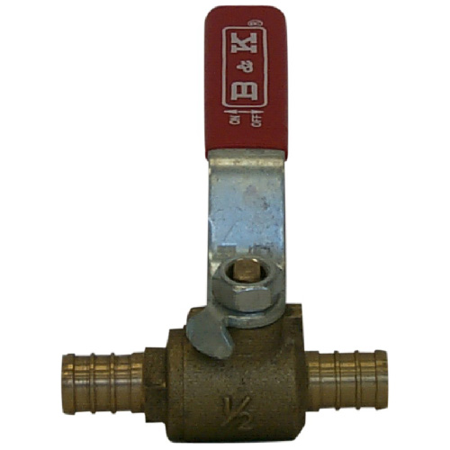 Brass Straight Ball Valve