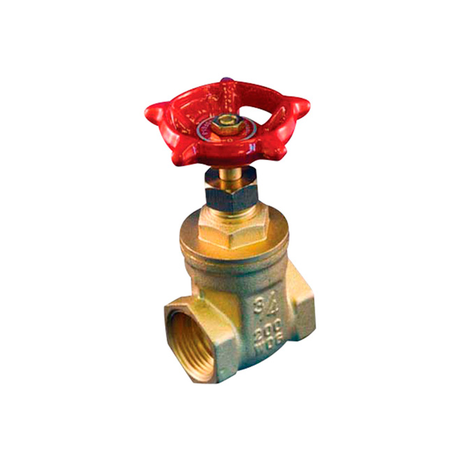 "1 1/2"" Threaded Brass Gate Valve"