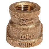 Reducer Coupling - Lead-Free Brass - 3/8