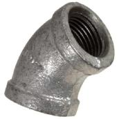 Galvanized 45° Elbow
