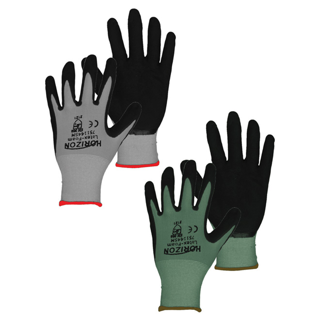 Gardening Gloves in Polyester and Latex Foam