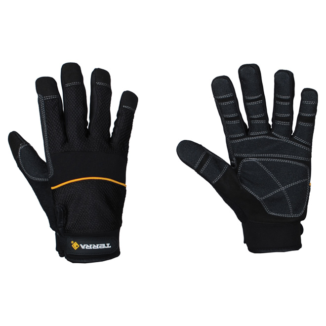 Working Gloves made of Synthetic Leather - Large