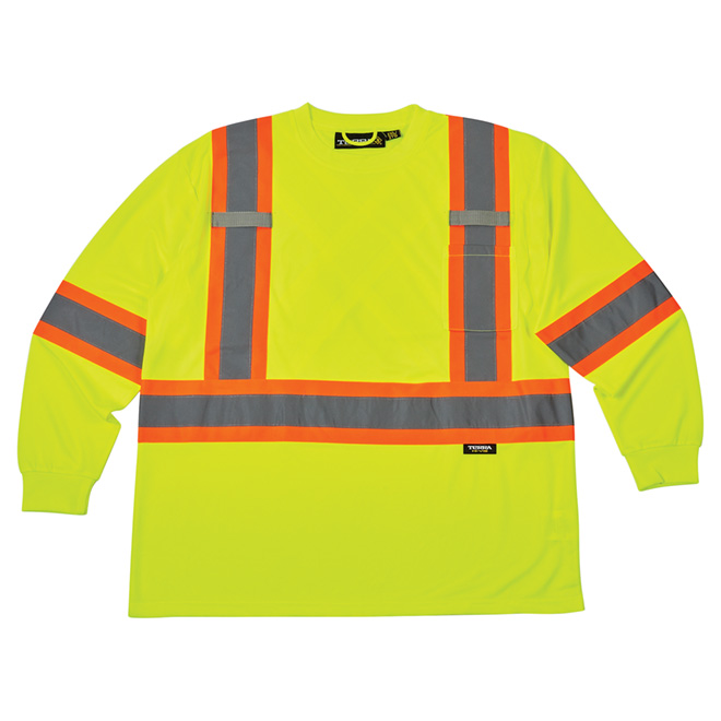 High Visibility Short Sleeve Shirt - Medium - Yellow
