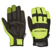 Men's High-Visibility Mechanic Gloves - Black/Yellow - L