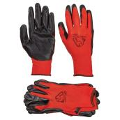 Men's Nitrile Coated Gloves - Dexterity - L - 3 Pairs
