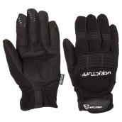 Men's Synthetic Leather Mechanic Gloves - M