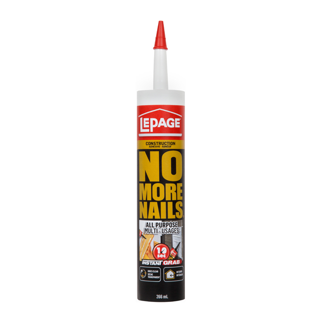 """No More Nails"" All-purpose adhesive"