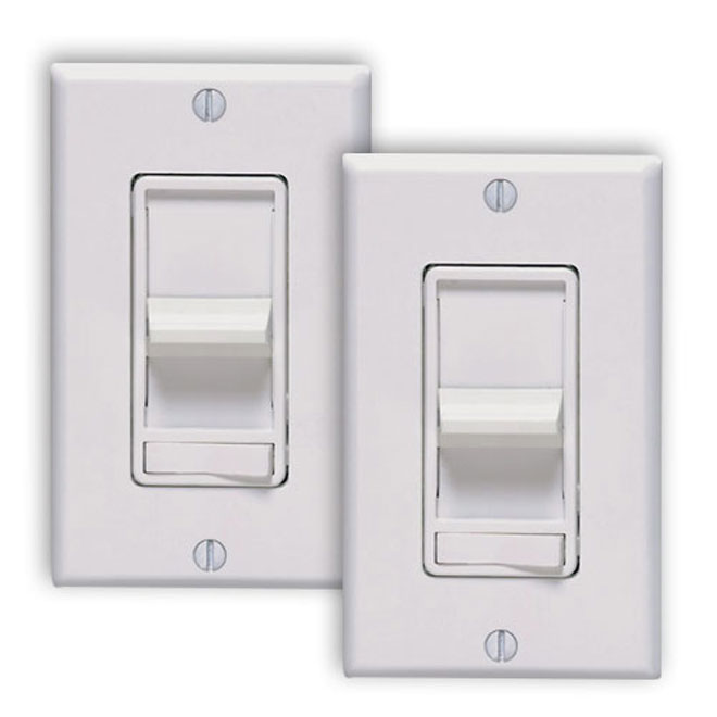 Slide Dimmers - 2-Pack