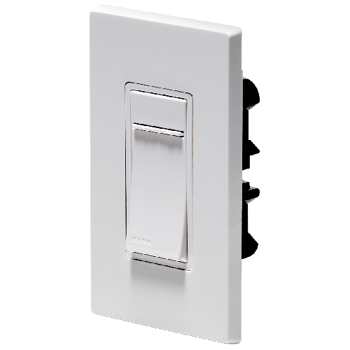 Dimmer with push pad and slide bar