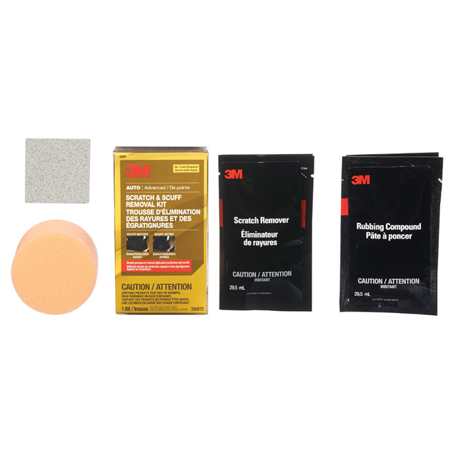 Car Paint Scratch Removal Kit