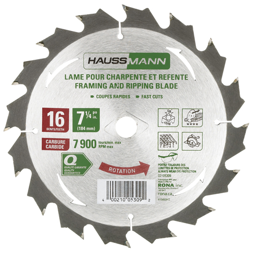 Framing Saw Blade