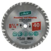 Framing Circular Saw Carbide Blade - 8 1/4