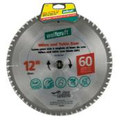 Mitre and Table Saw Carbide Blade - 12
