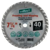 Framing Circular Saw Titanium Blade- 7 1/4