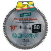 Crosscutting/Ripping Titanium Saw Blade- 10