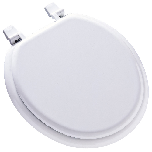 heated padded toilet seat. Molded Wood Toilet Seat  Regular White Toilets and Bidets Seats RONA