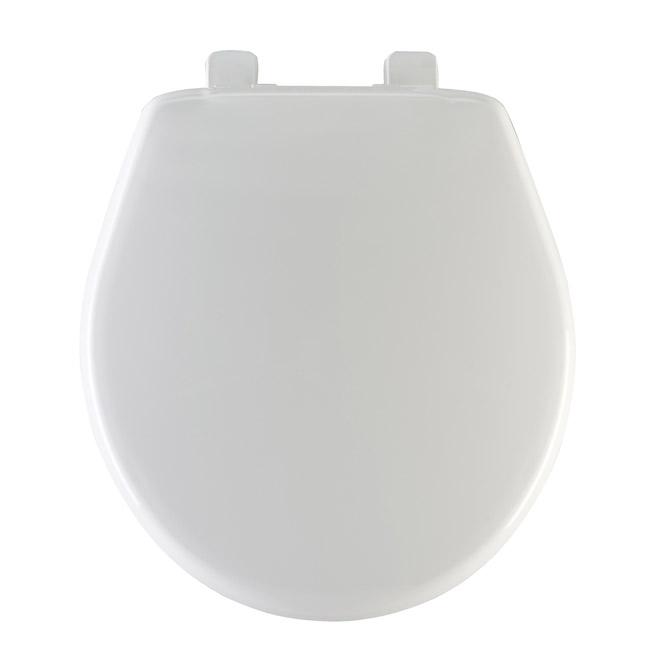 Plastic Toilet Seat Regular White Crane Rona