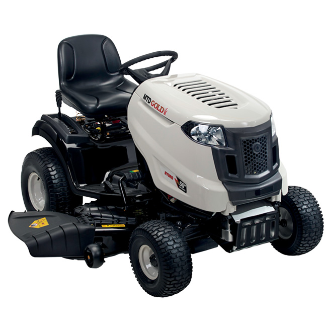 "Gas-powered Lawn Tractor 23 HP - 50"" - Grey"