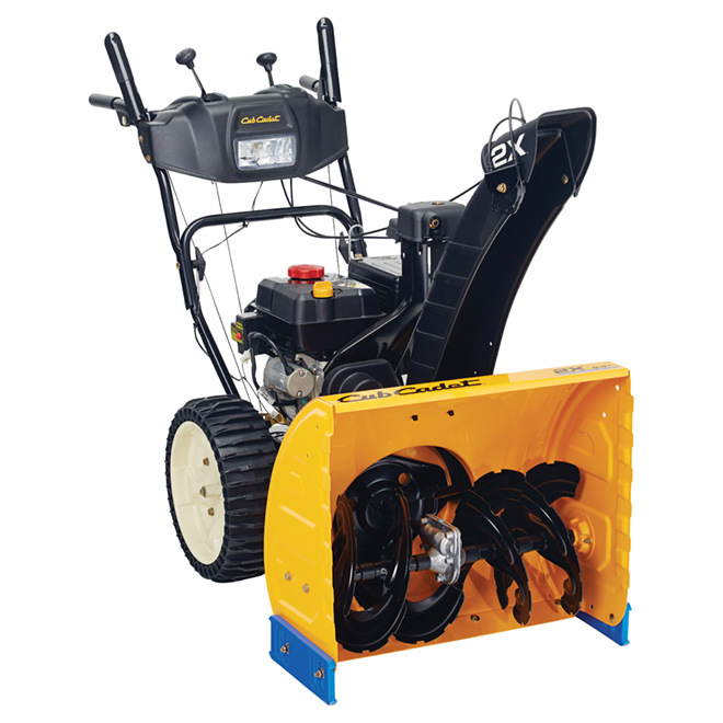 "2-Stage Snowblower - 24"" - Yellow - 208 cc"
