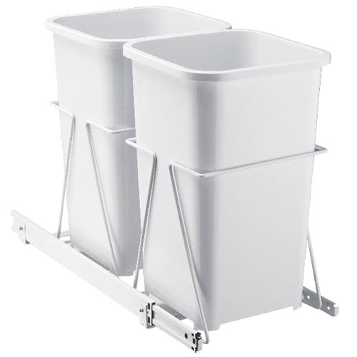 Syst me de poubelle coulissante montage sous l 39 armoire - Poubelle coulissante cuisine ...