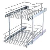 Double-Tier Wire Multi-Use Basket - 14