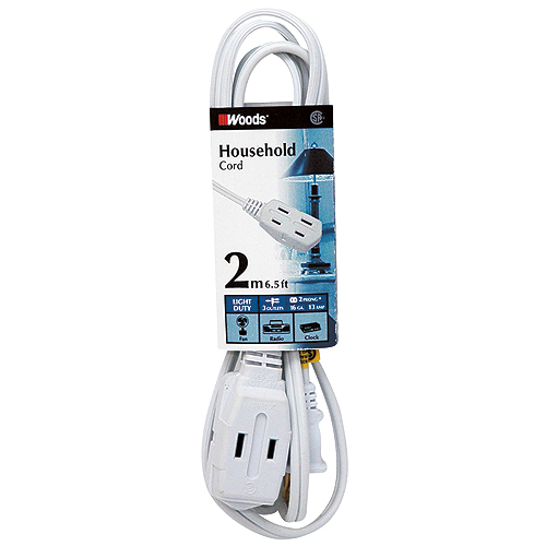 Cord - Triple-Outlet Extension Cord