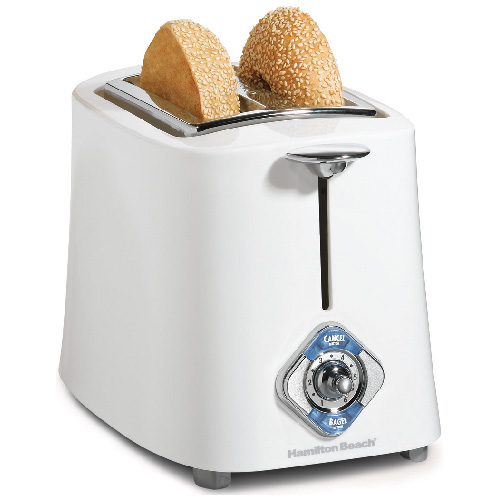 2-Slides Toaster - White