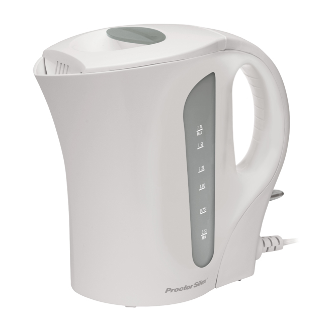 Electric Kettle - Jug - 1.7L - White