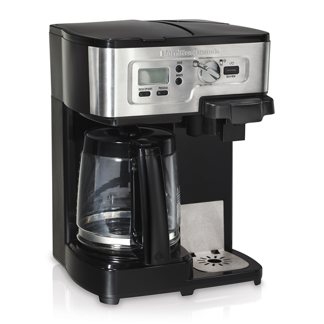 2-Way Coffee Maker - Flexbrew - Filter/Pods - Single/12 Cup