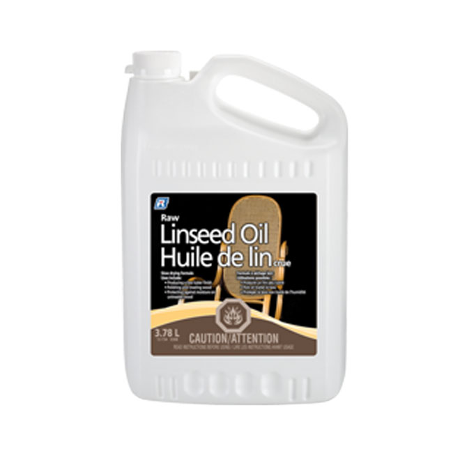 Raw Linseed Oil - 3.78 L