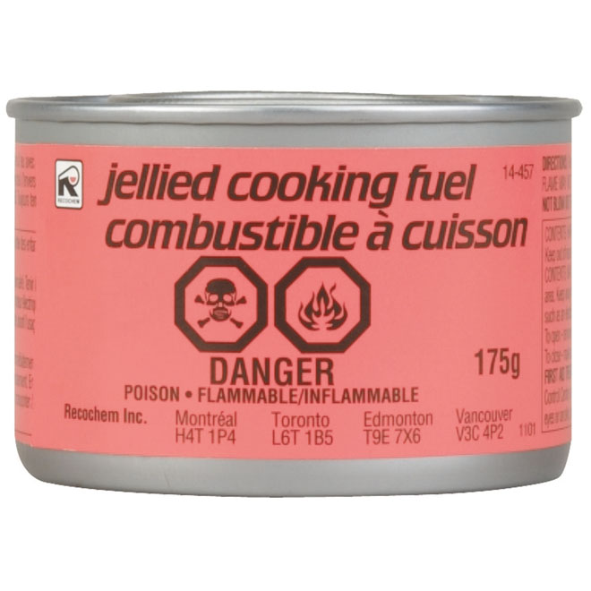 Cooking Gel Fuel