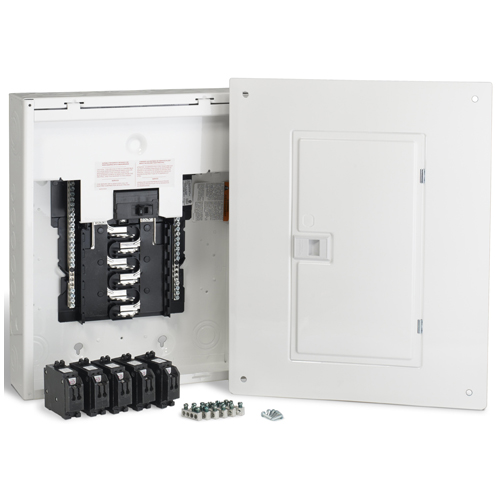 100A/12 Spaces/24 Circuits HomeLine Retrofit Panel Package