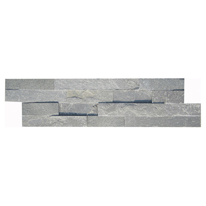 "Ledgestone Wall Slate - 6"" x 24"" - Grey"