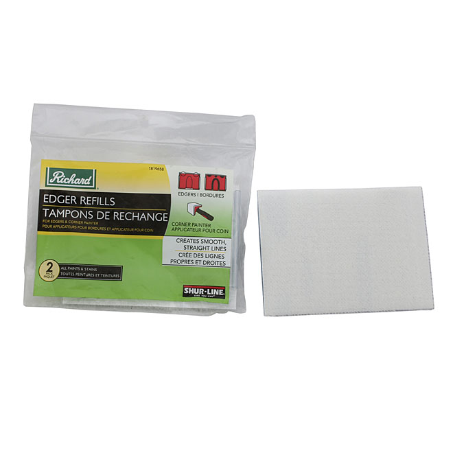 Paint Edger Pad Refills - 2-Pack