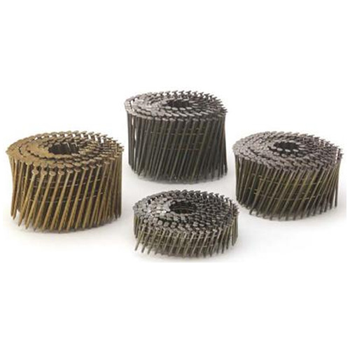 Framing Nails - 15° Coil - Galvanized - Spiral - 2""