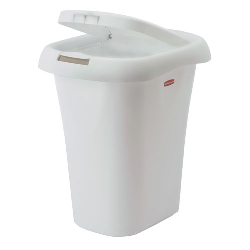 Waste Basket With Spring Top