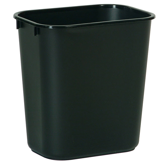 Commercial Plastic Trash Can 26 L