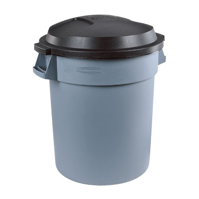 Quot Roughneck Quot Outdoor Garbage Can Rona
