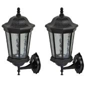 2-unit set of exterior wall lanterns