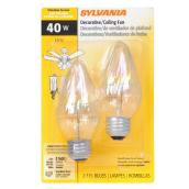Bulb Flame F E26 - Dimmable - Soft White - PK2