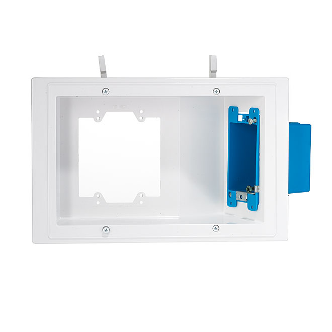 Recessed TV/AV Receptacle Box