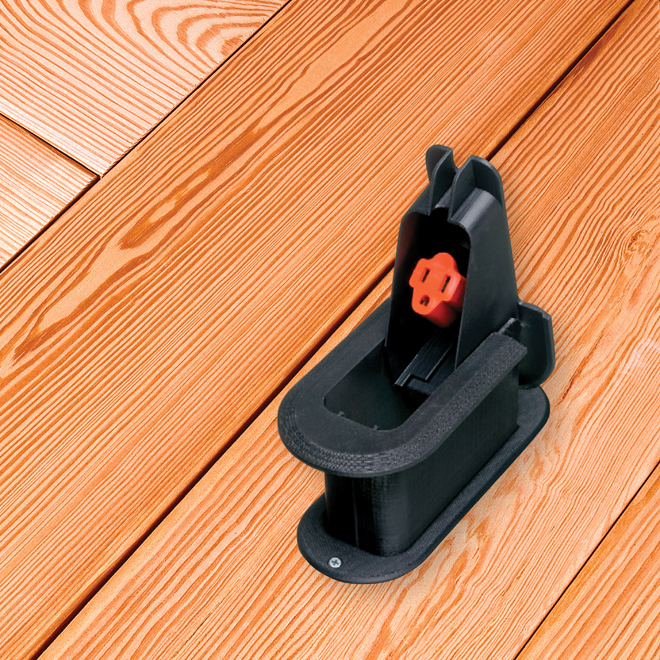 Deck Grommet(TM) for Raised Deck Applications